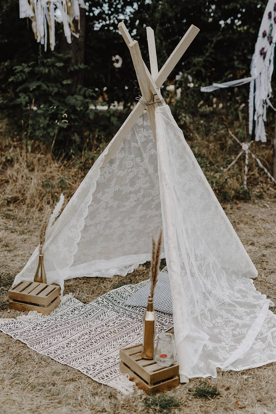 Tipi Zelte, Kissen & Teppiche lovely wild moments